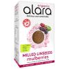 Organic Alara Milled Linseeds Mulberries 500g