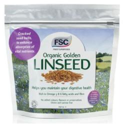 FSC Organic golden Linseed