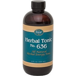 Formula 636 Herbal Tonic, Baar