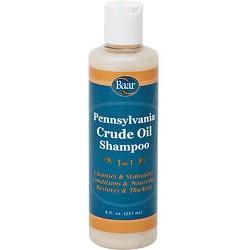 Crude oil shampoo 8oz (BAAR)
