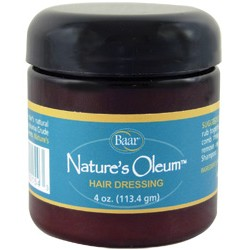 Crudoleum natures oleum hair dressing (Baar) 4oz (113.4 gm)
